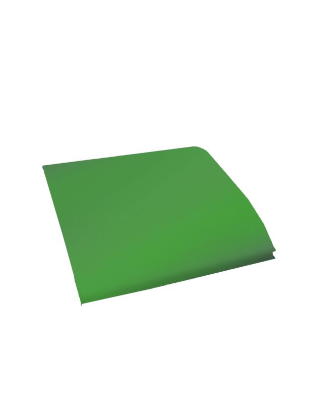 Žalios spalvos PVC medžiagos lopas