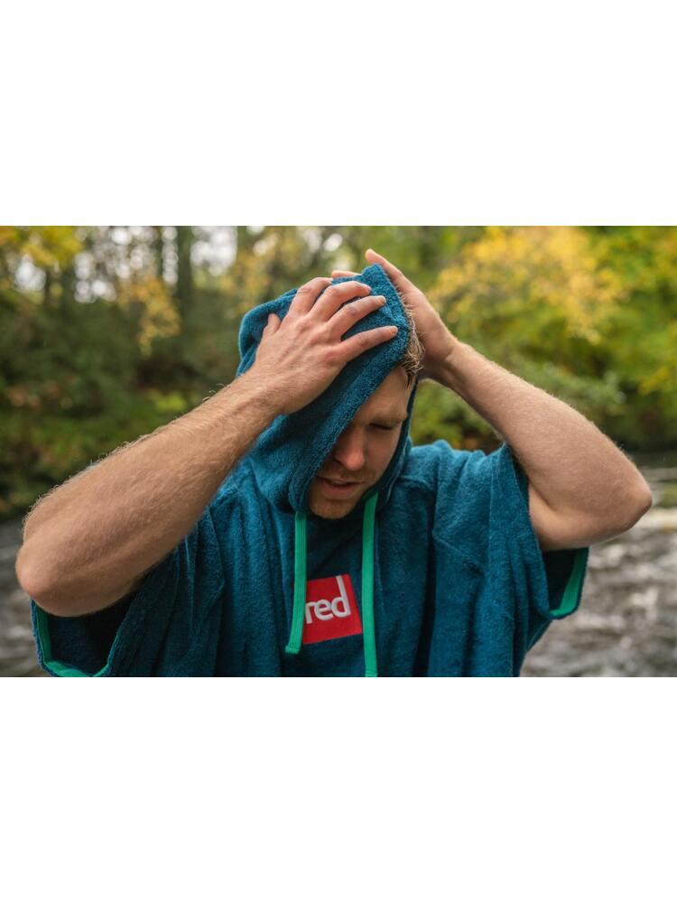 RED Original vyriškas pončas - rankšluostis (mėlynas)